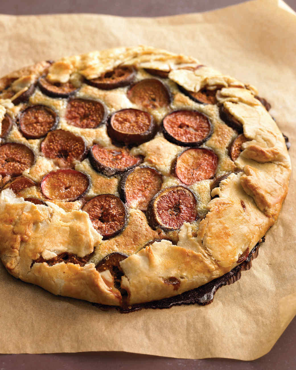 Fresh Fig and Almond Crostata
