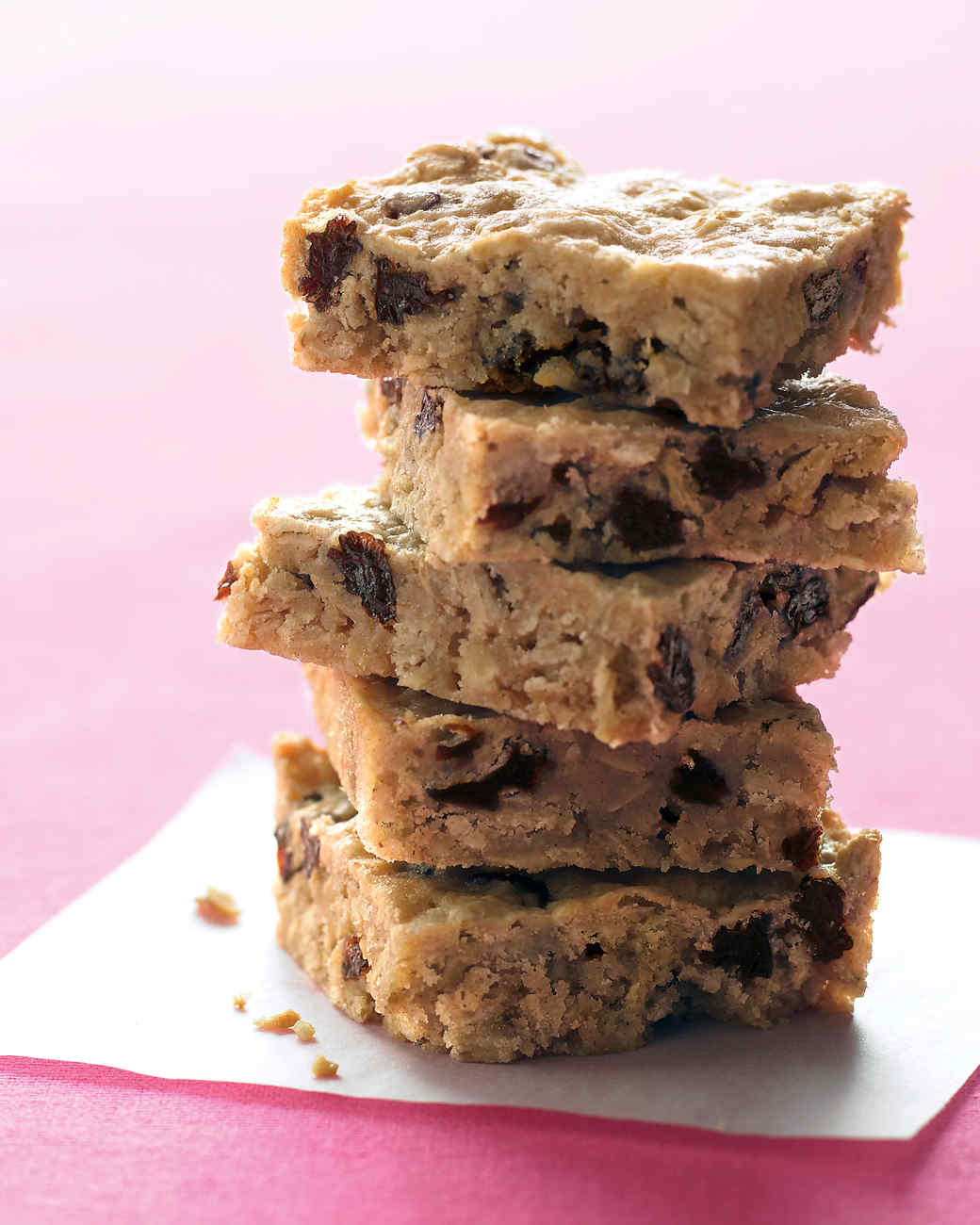 Oatmeal-Raisin Bars