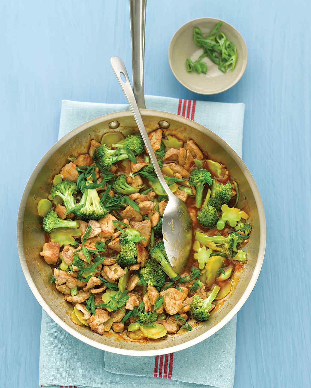 Broccoli and Pork Stir-Fry