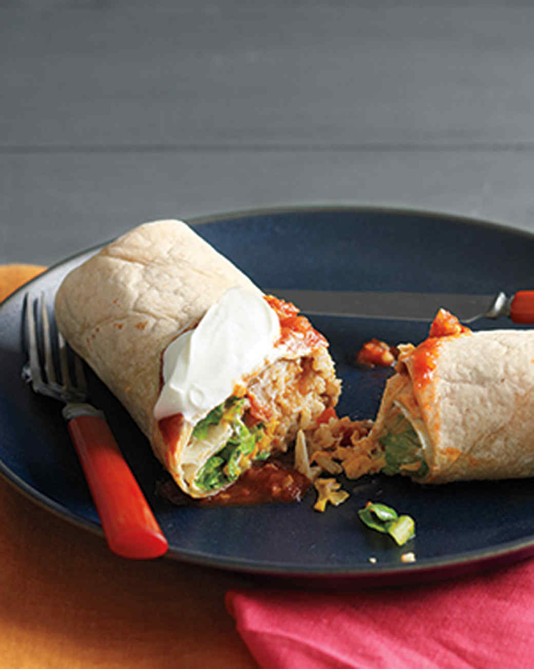 Bean and Cheese Burritos Recipe | Martha Stewart