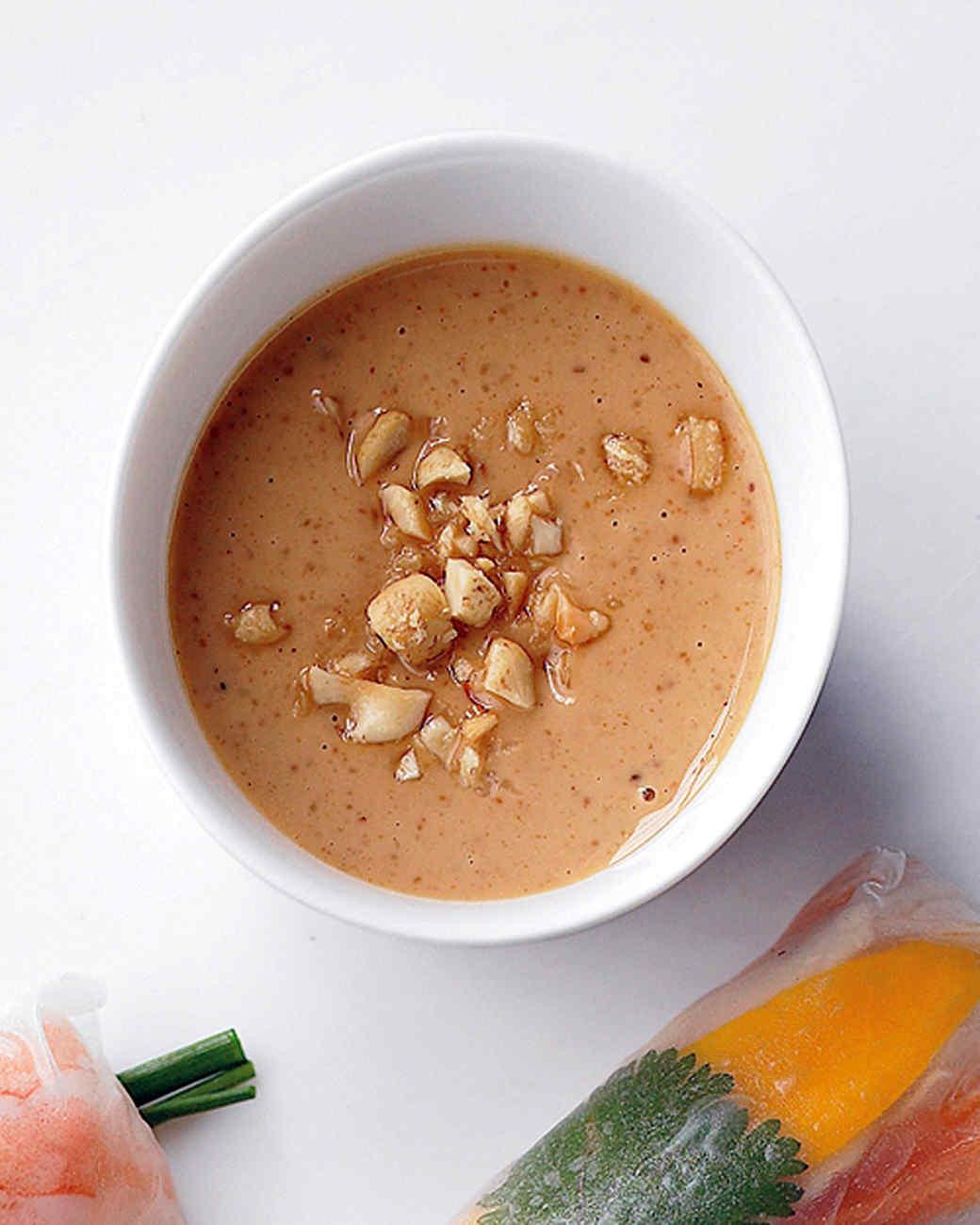 Creamy Peanut Dipping Sauce