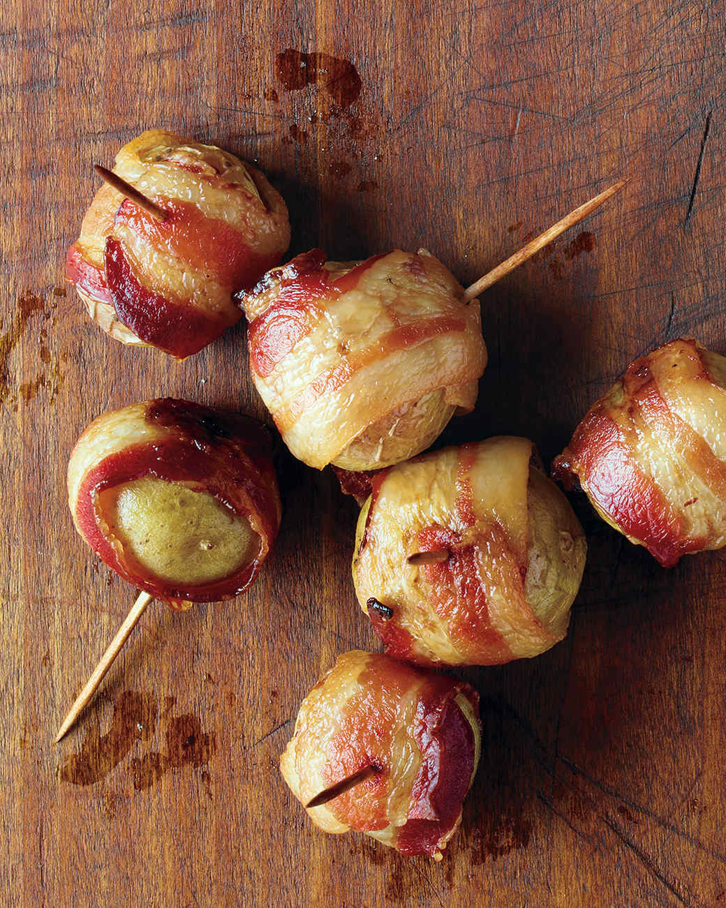 Cocktail Party Menu Ideas For 20 Part - 37: Bacon-Wrapped Potatoes · Get Recipe