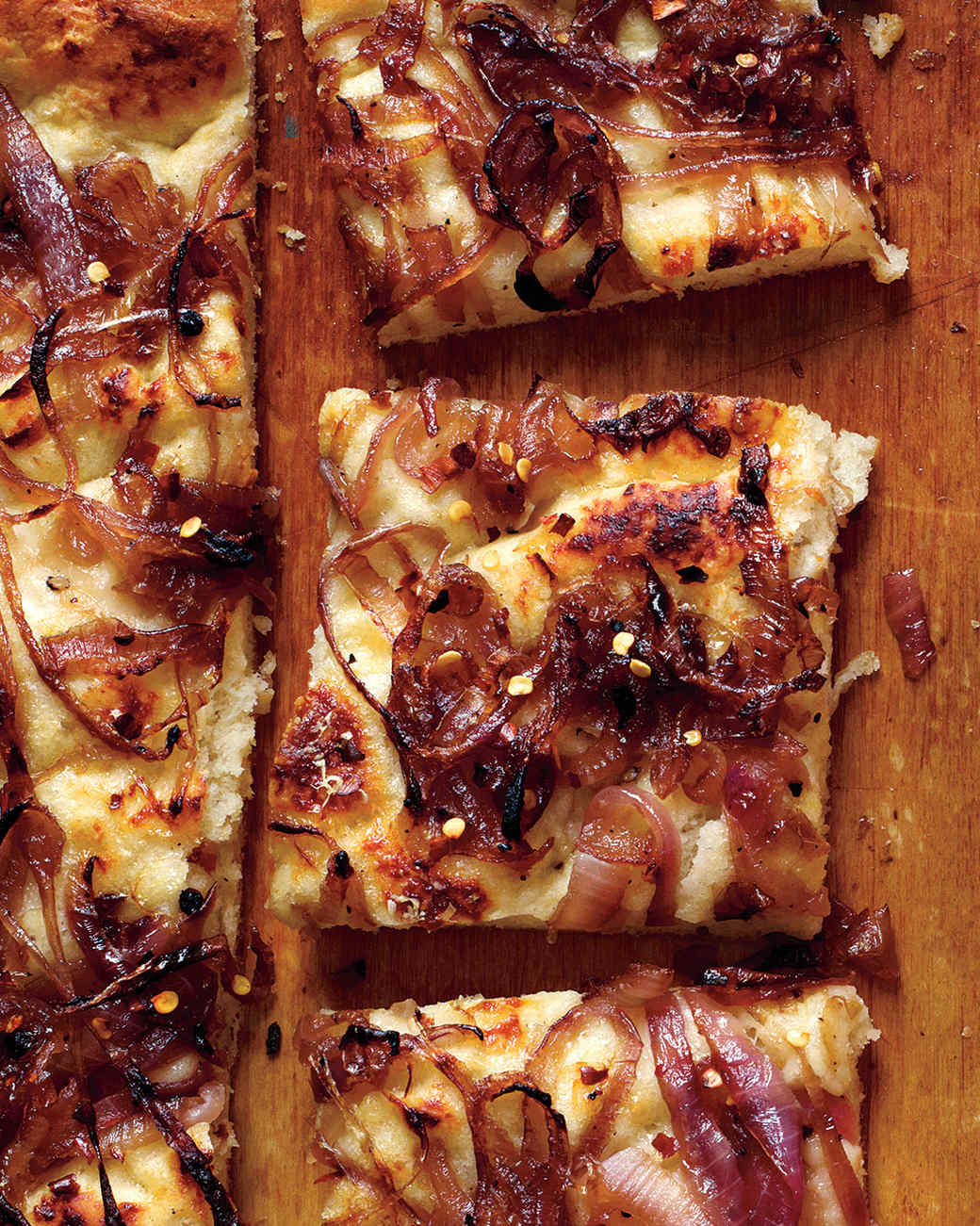 Everyday food recipes martha stewart onion focaccia forumfinder Image collections
