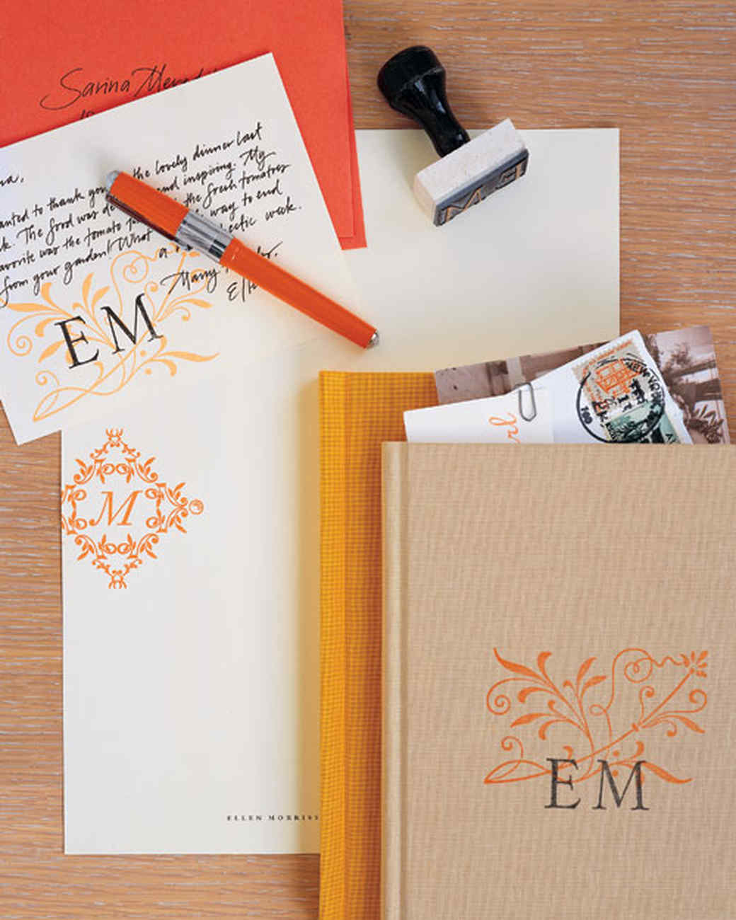 Stamped Stationery and Book
