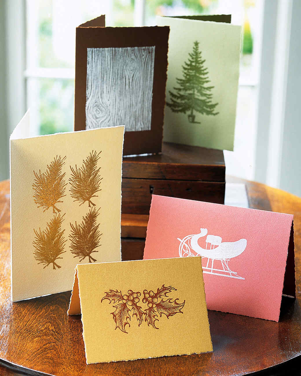 Deckle-Edged Cards