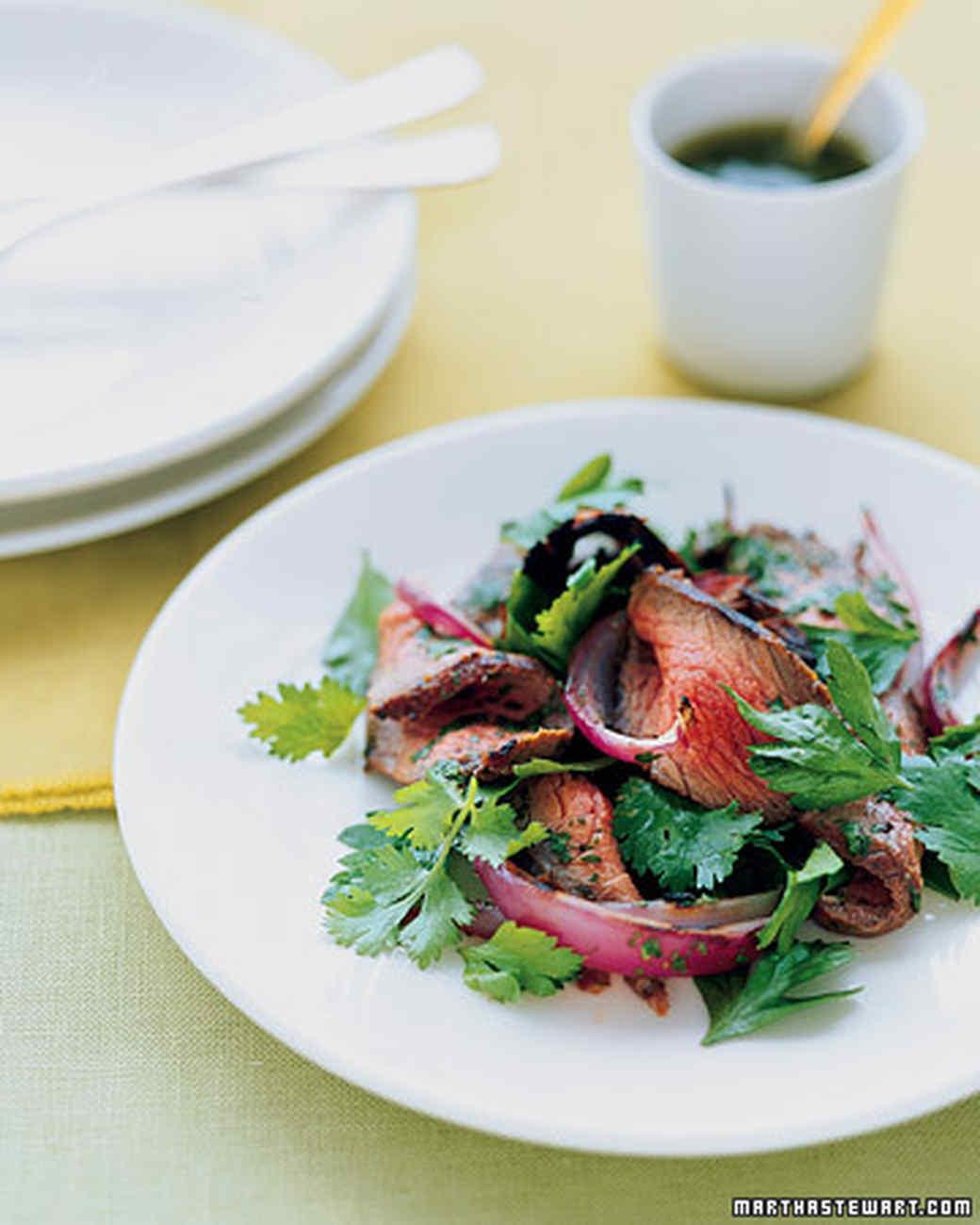 Sirloin Salad with Cilantro