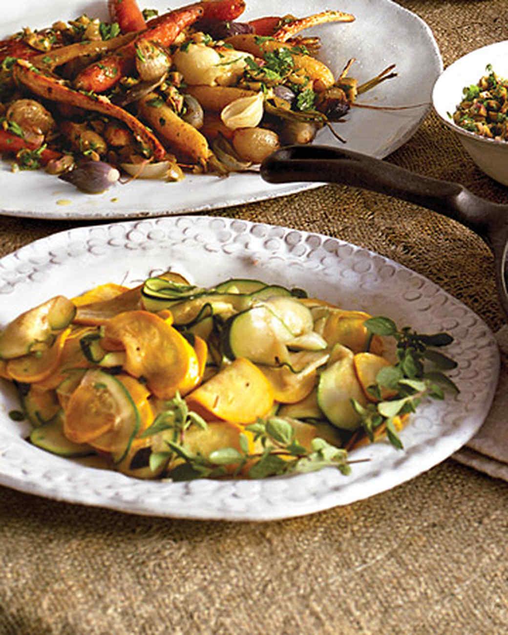 Warm Summer Squash Salad