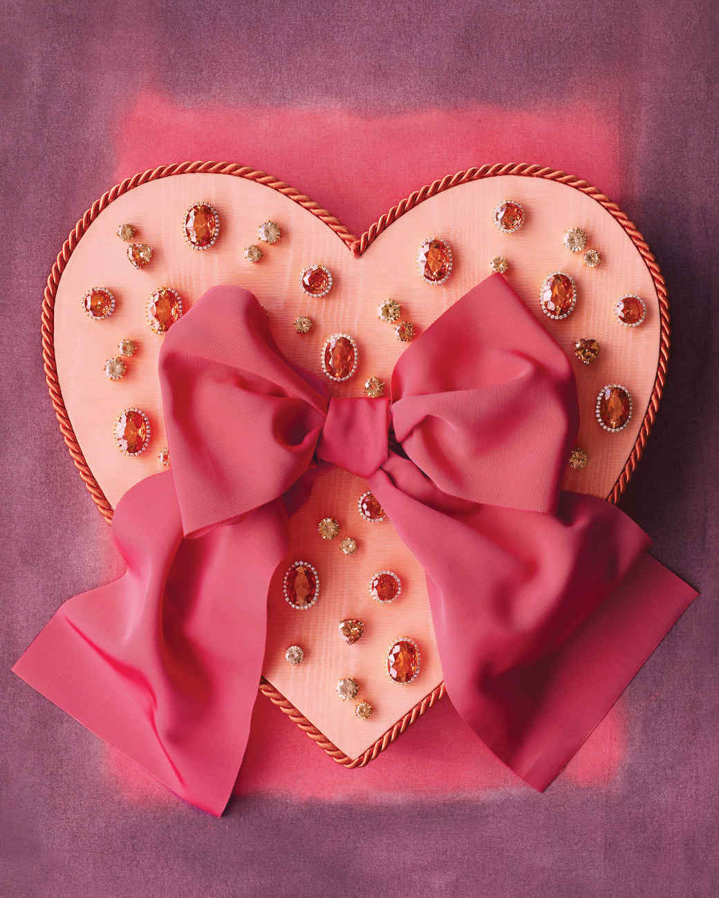 Bejeweled Valentine's Day Box