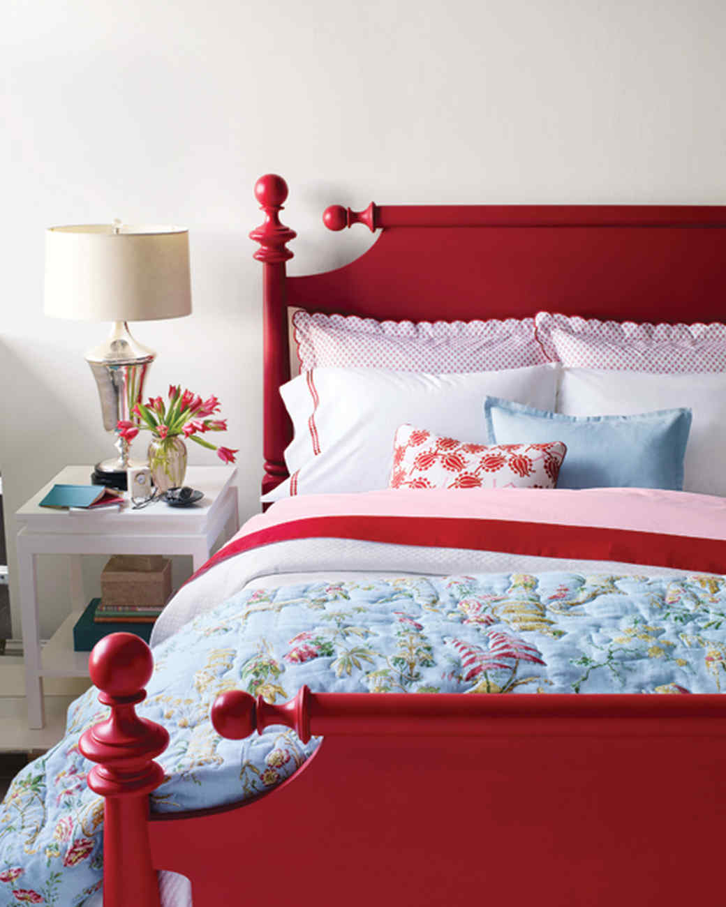 The Best Instant Update: Painting a Bed