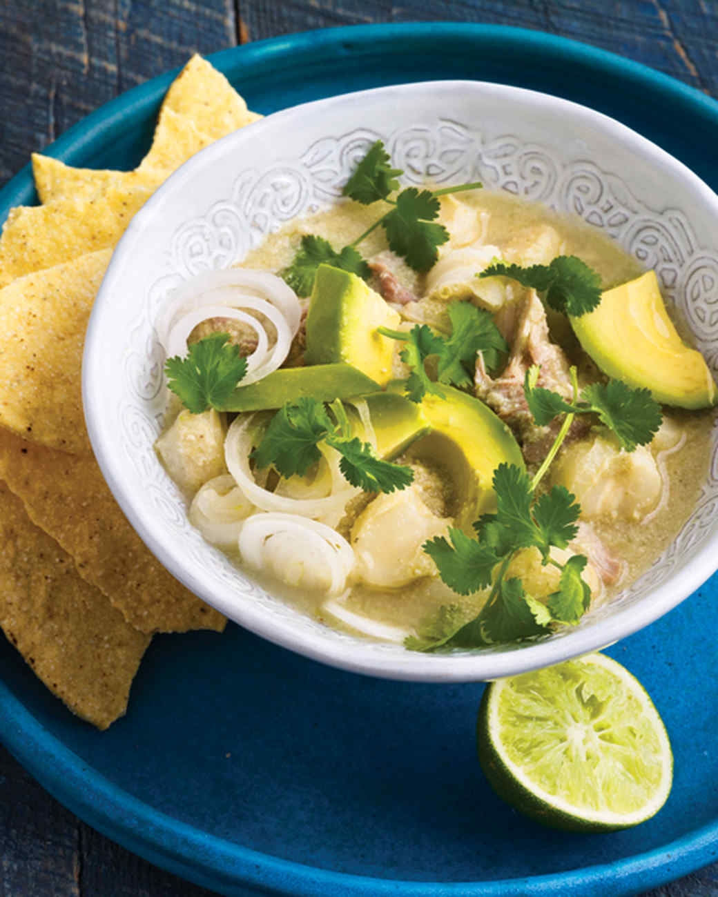 New Mexico Green-Chile Pozole
