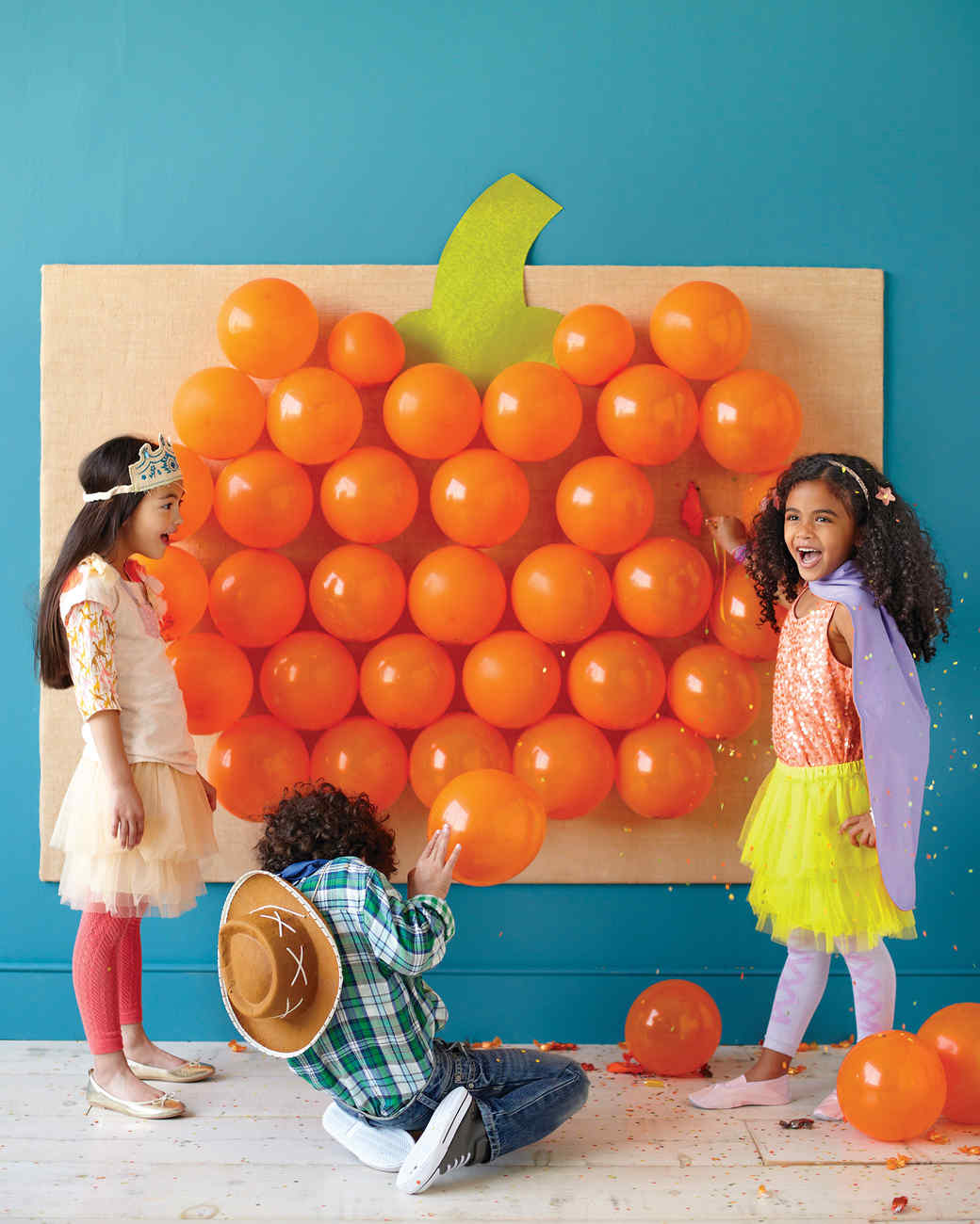 Carnival Games Ideas: Halloween Games: Pop Goes The Pumpkin & Video