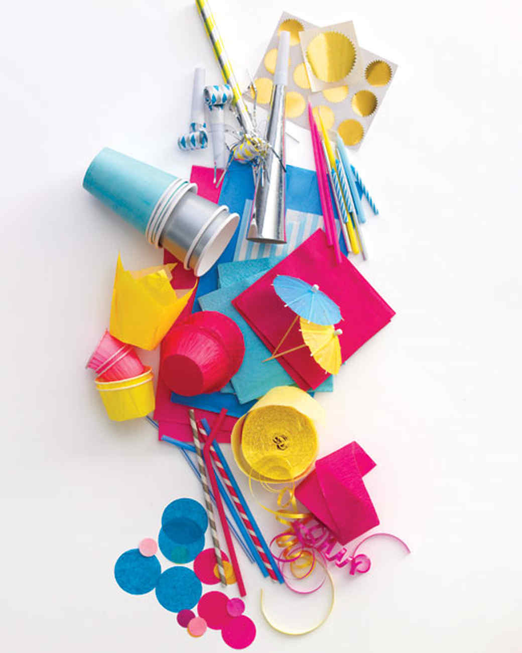 Turn Bargain Basics into Cheerful Party Supplies