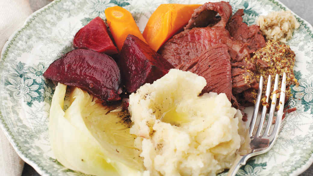 Uncorned Beef and Cabbage