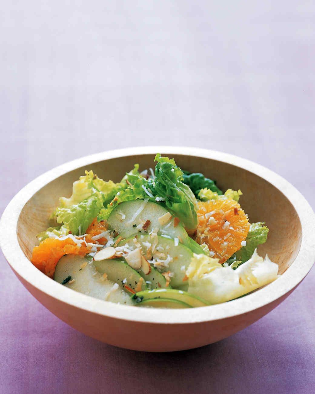 Coconut and Tangerine Salad