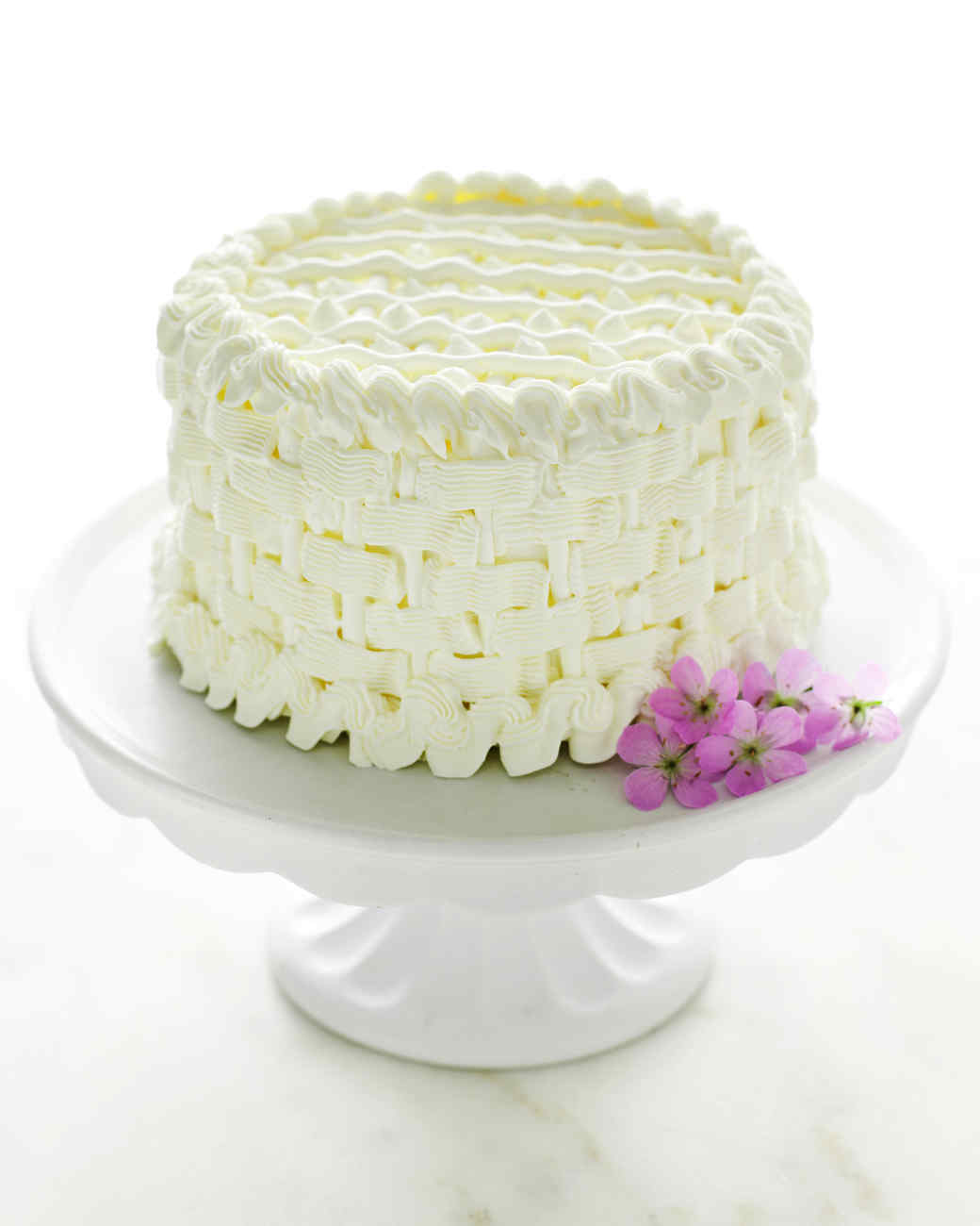 Orange-Almond Cake with Buttercream Frosting