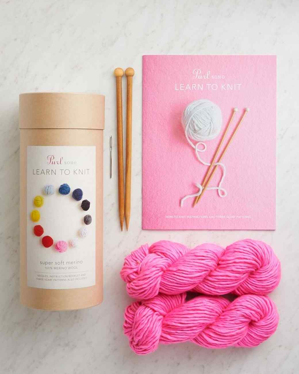 Purl Soho knit kit