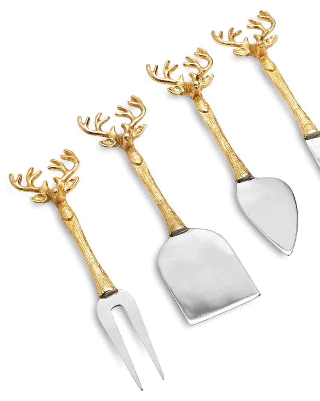 reindeer cheese knives