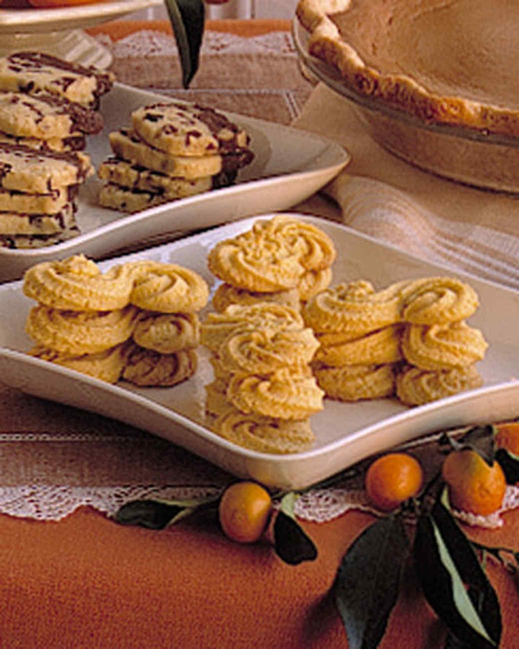 Orange-Cornmeal Cookies Recipe | Martha Stewart