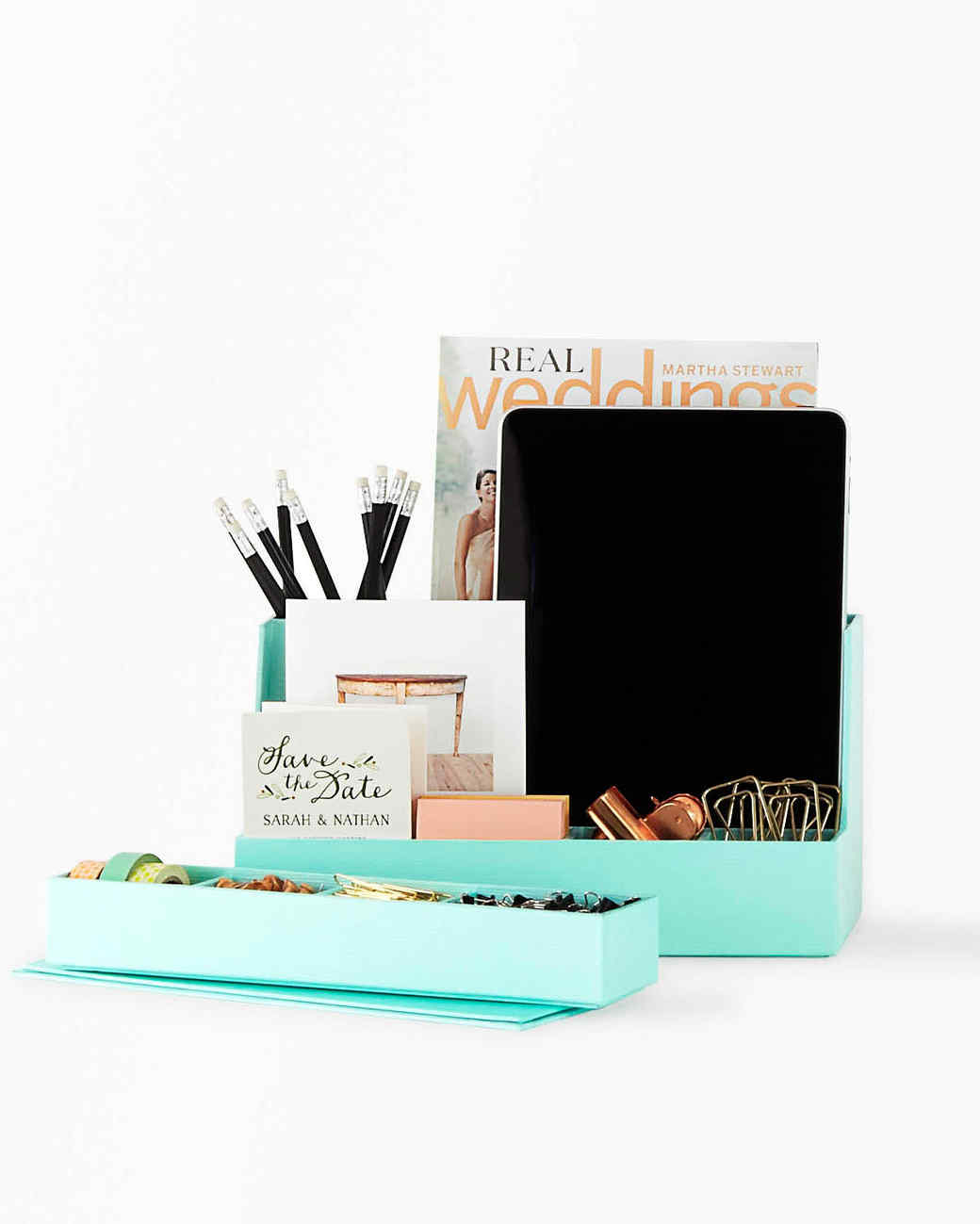 staples tech desk organizer