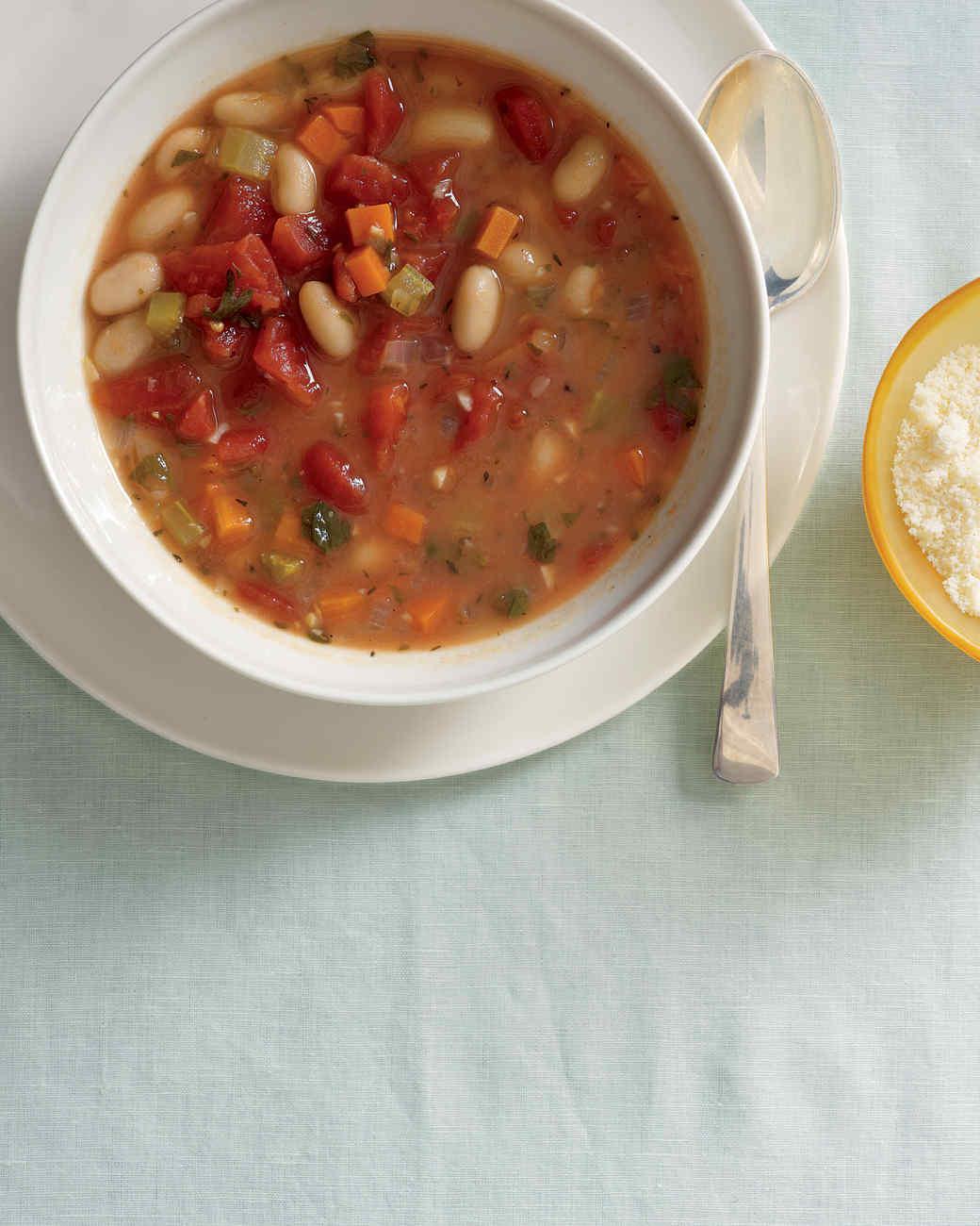 Vegetable-Bean Soup