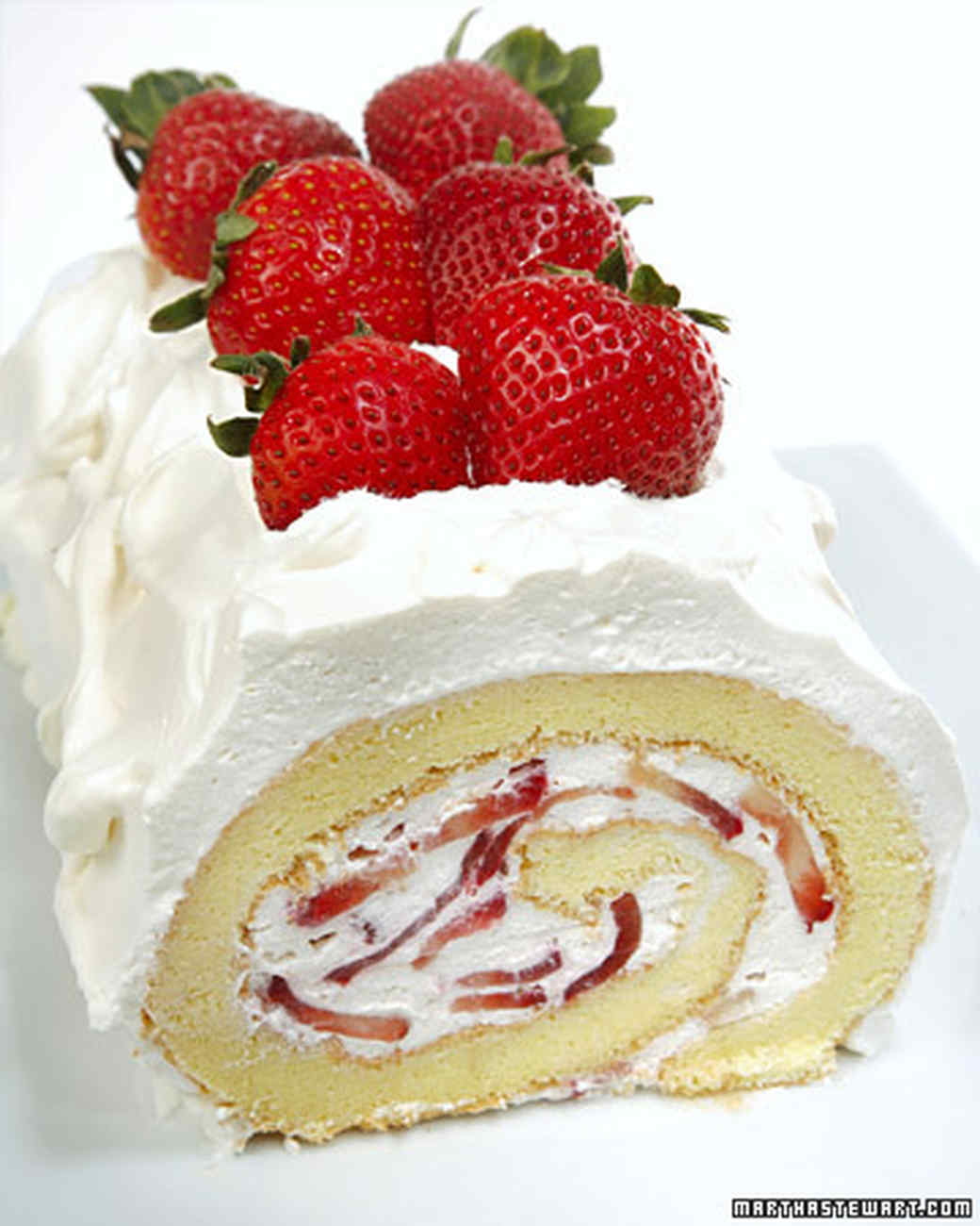 Strawberries Cream Torte Recipe: Strawberry Torte Recipe