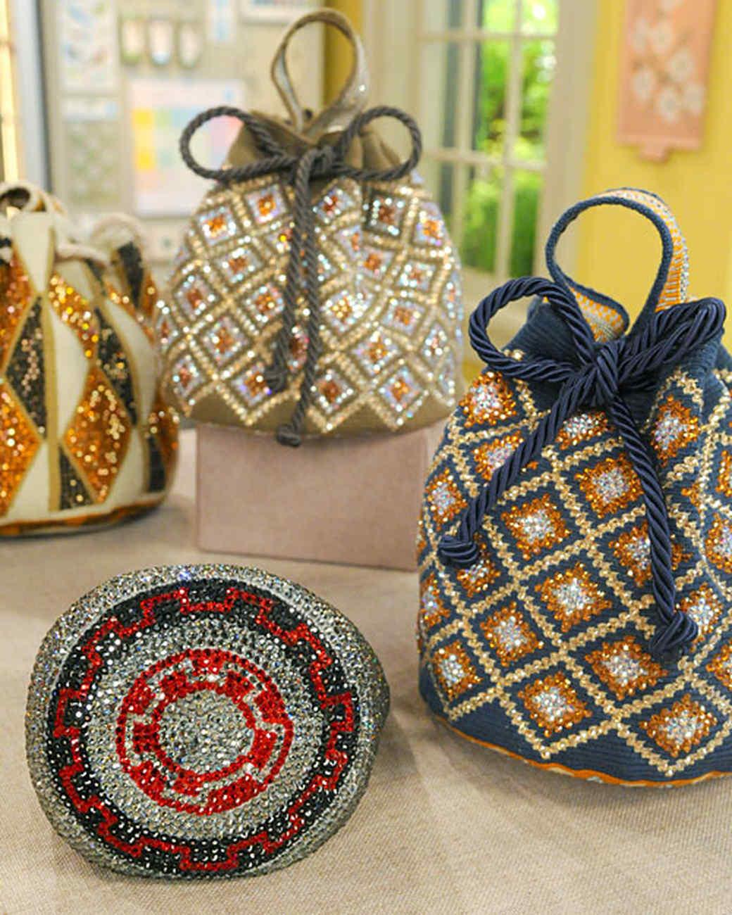Swarovski Crystal Embellished Handbag Amp Video Martha Stewart