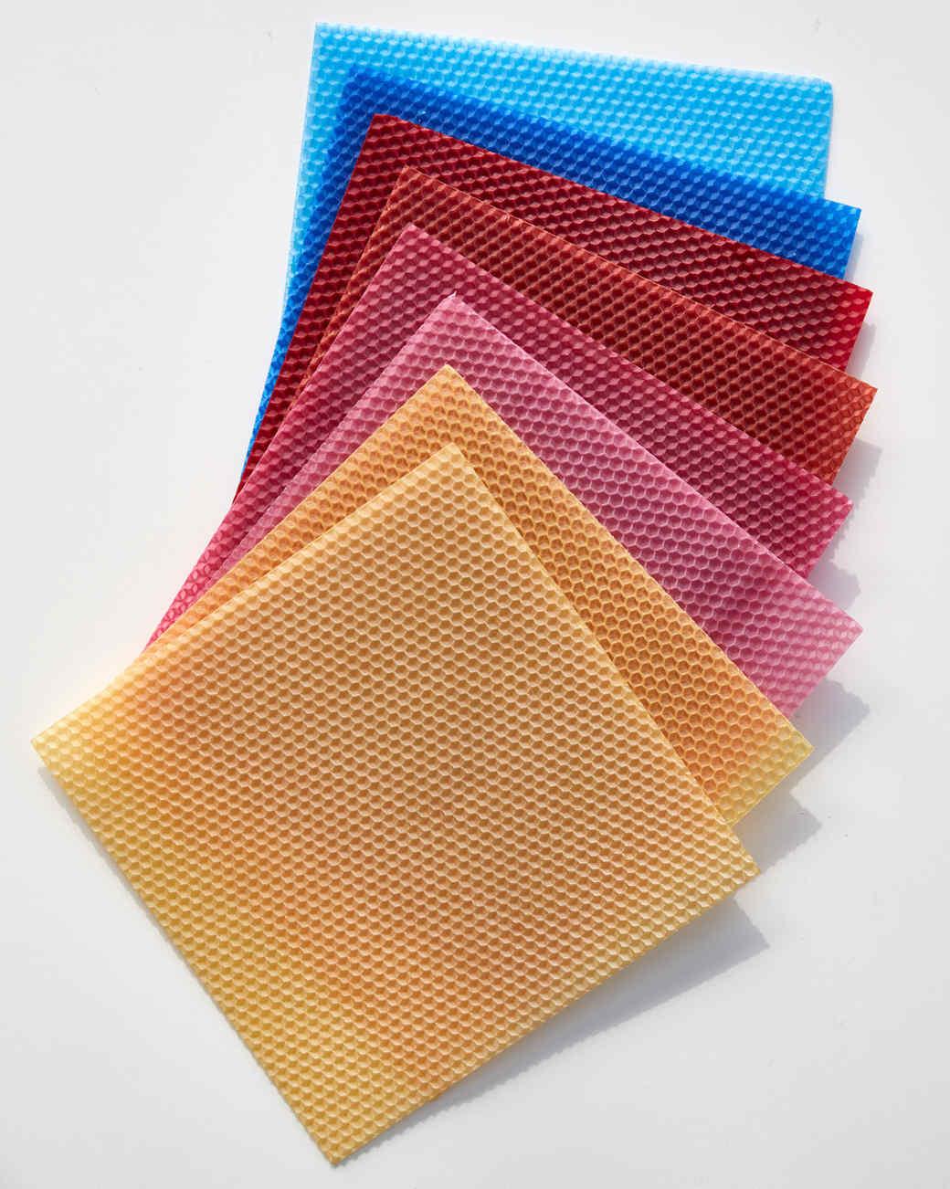 bees wax sheets