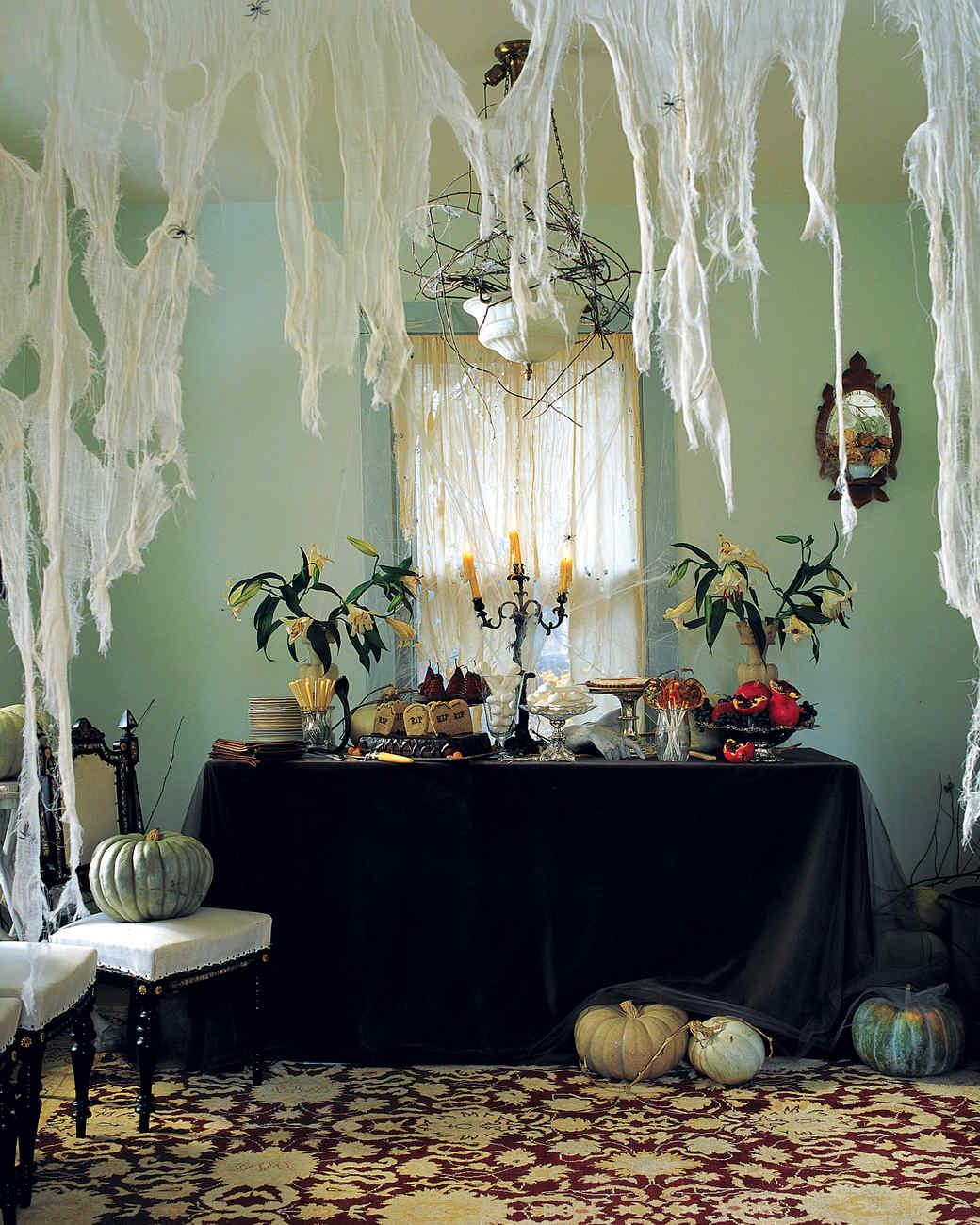 indoor halloween decorations martha stewart rh marthastewart com halloween decoration ideas 2019 halloween decoration ideas diy