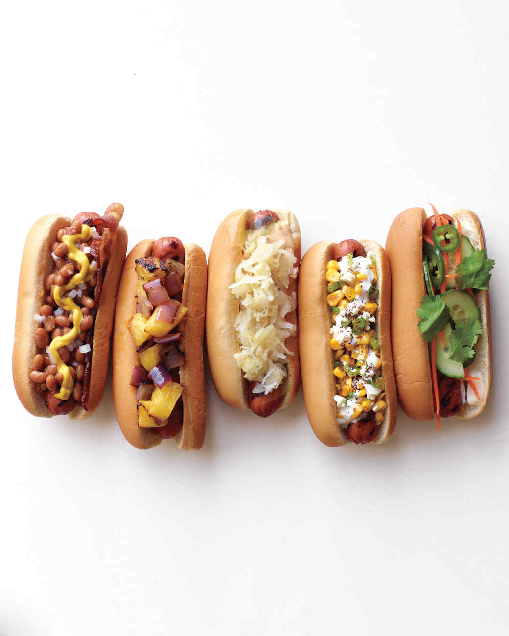 try a mexican charred corn dog hawaiian dog reuben dog and banh mi dog ...