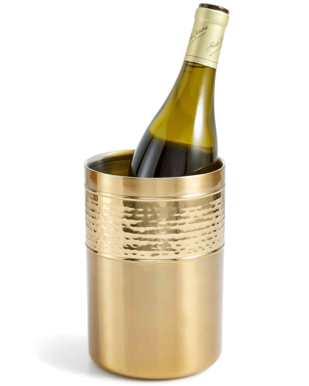 gold wine chiller