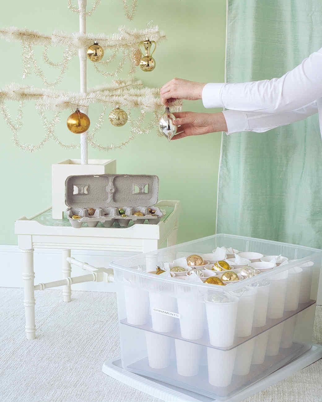 Safe Ornament Storage