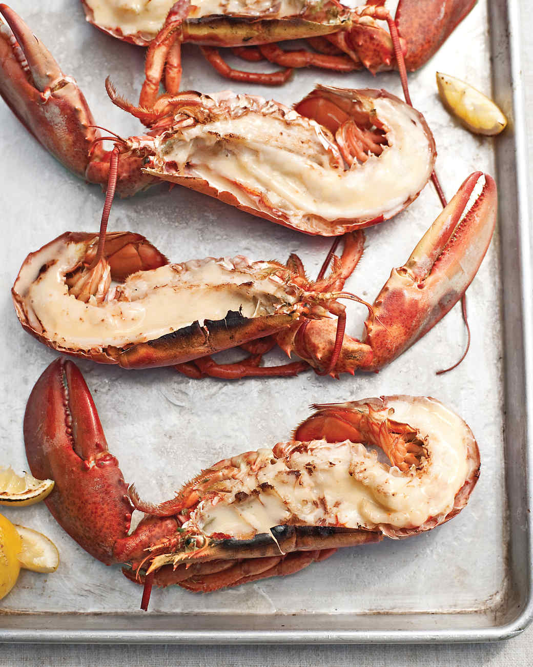 Lobsters with Beurre Blanc