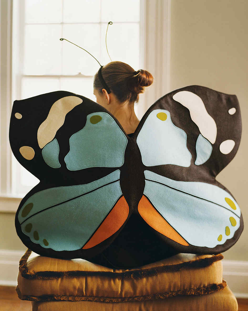 Sewing a butterfly costume for a girl with your own hands: a chic outfit at no extra cost 100
