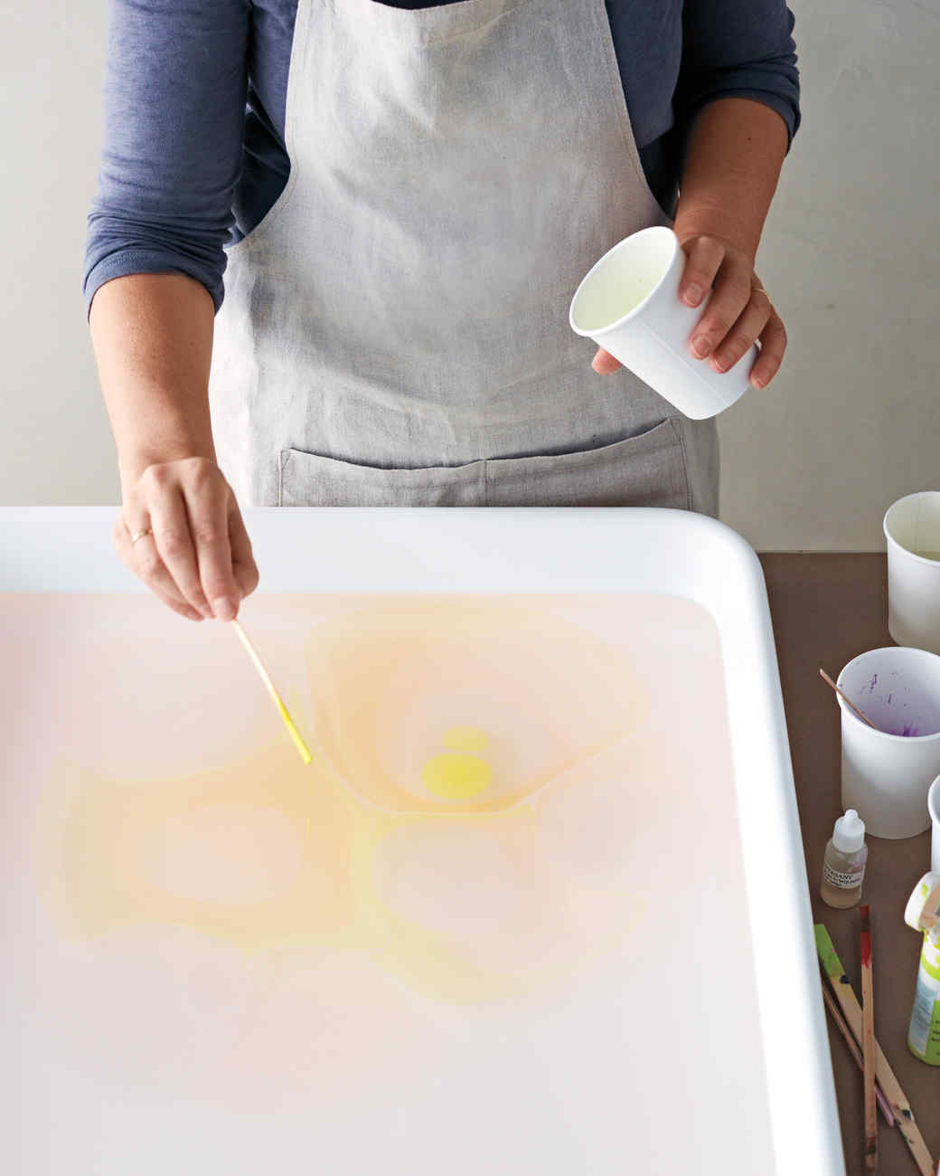 The Method Of Marbling Martha Stewart