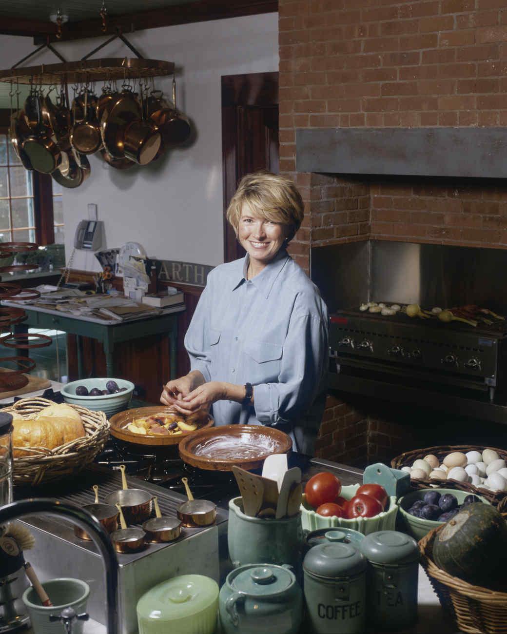 martha stewart show kitchen 1996