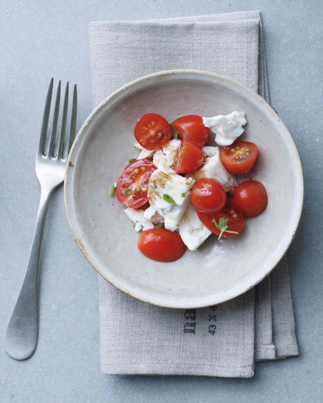 Cherry Tomato and Feta Salad