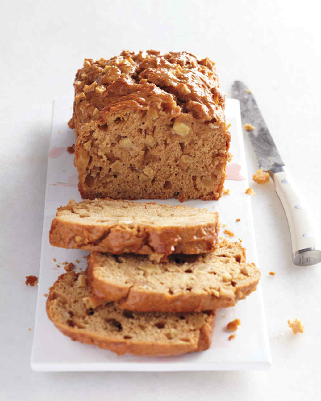 Glazed Apple-Spice Cake