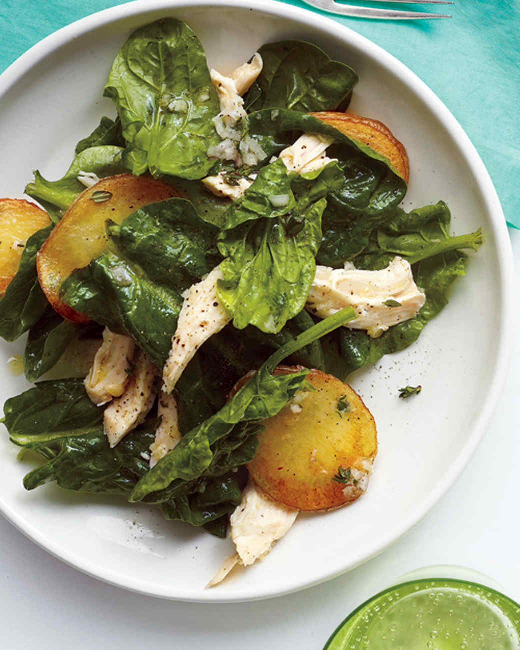 Chicken and spinach recipes for dinner tonight martha stewart forumfinder Images