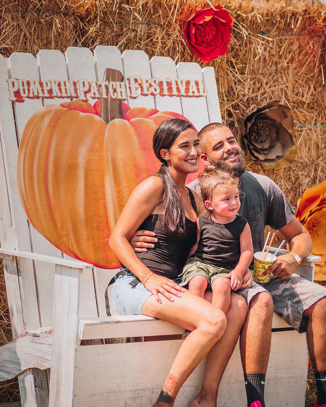 pumpkin patch festival photo set chair