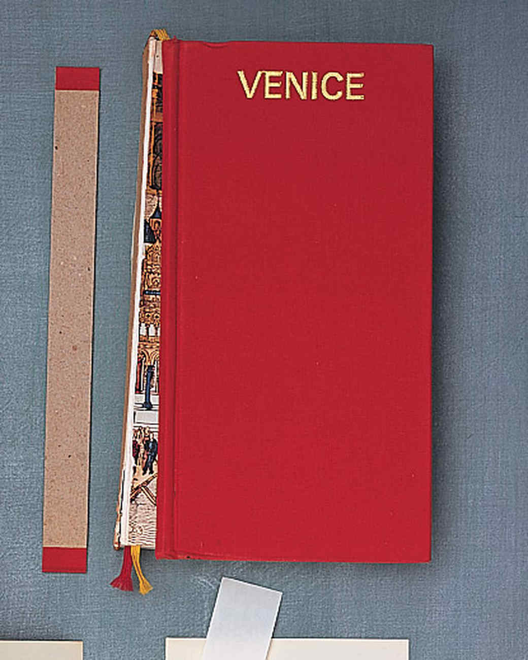 How To Make A Decorative Book Cover ~ Accordion style travelogue martha stewart