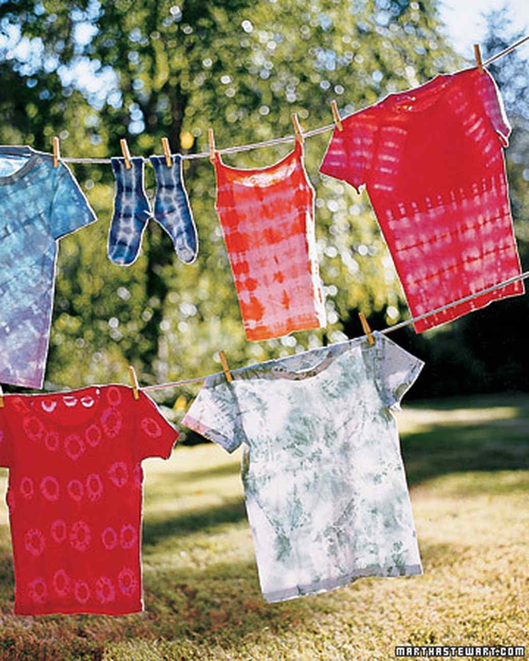 Tie Dyeing 101 Video Martha Stewart