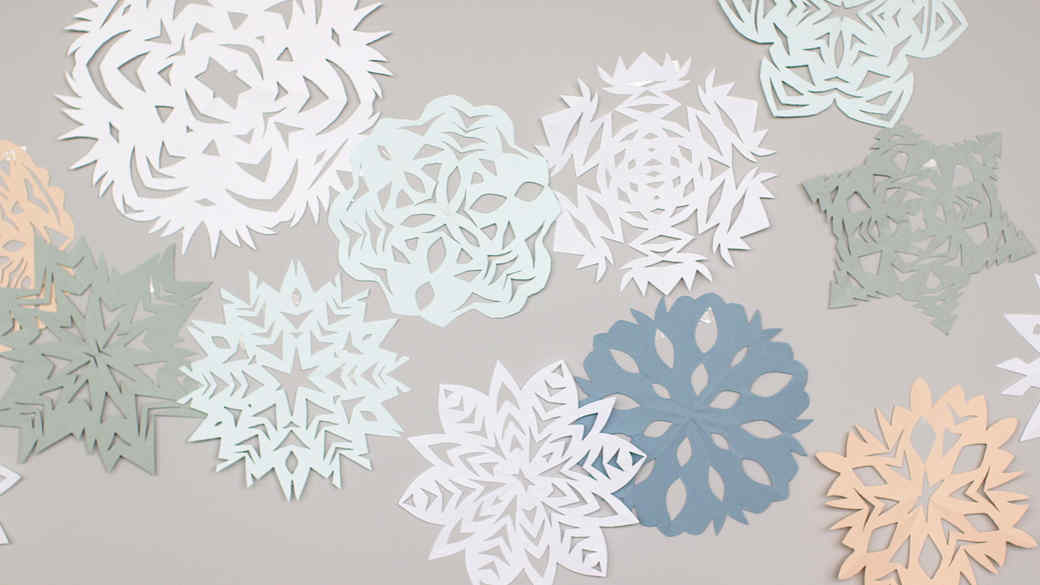 How To Make Paper Snowflakes EH