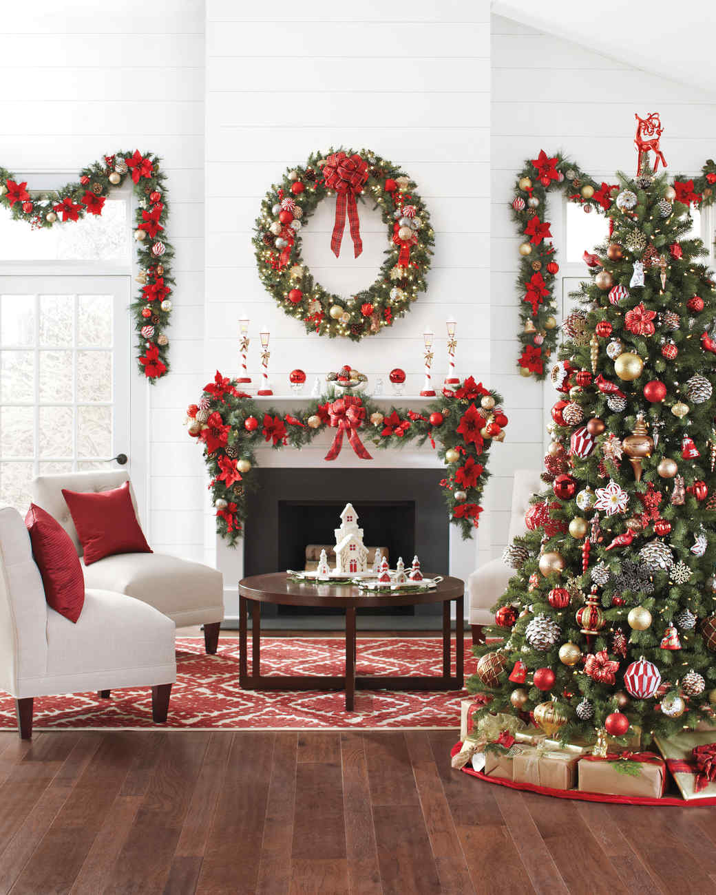 3 bloggers 3 unique takes on decorating with the martha for Christmas home ideas