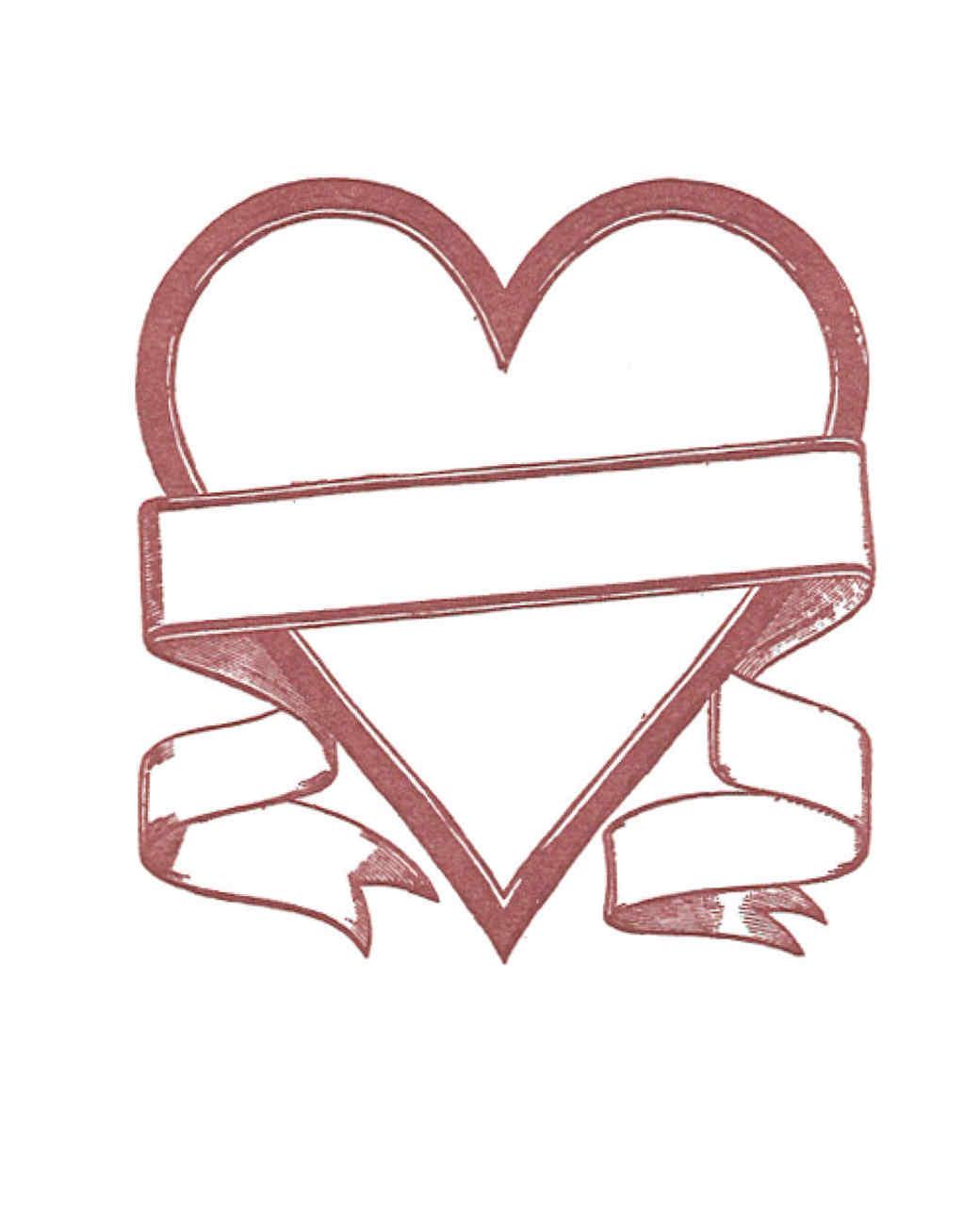 Valentine S Day Clip Art And Labels Martha Stewart