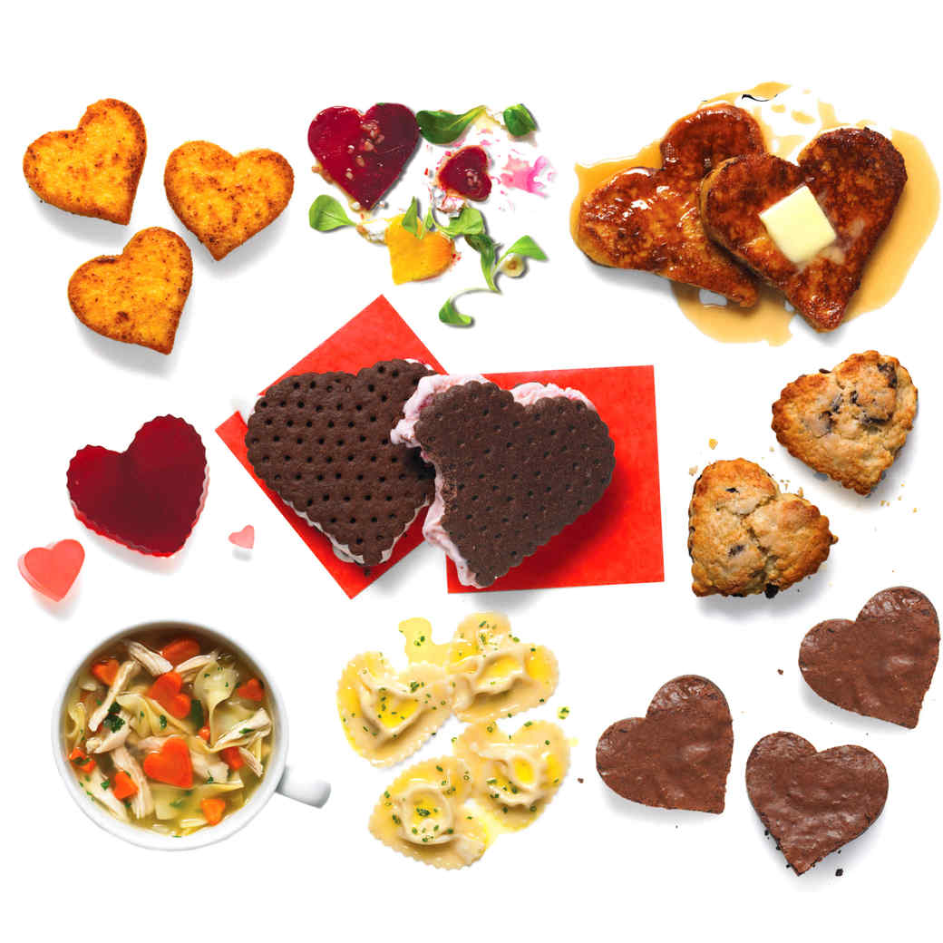9 DIY Heart-Shaped Valentine's Day Foods You Have to Try