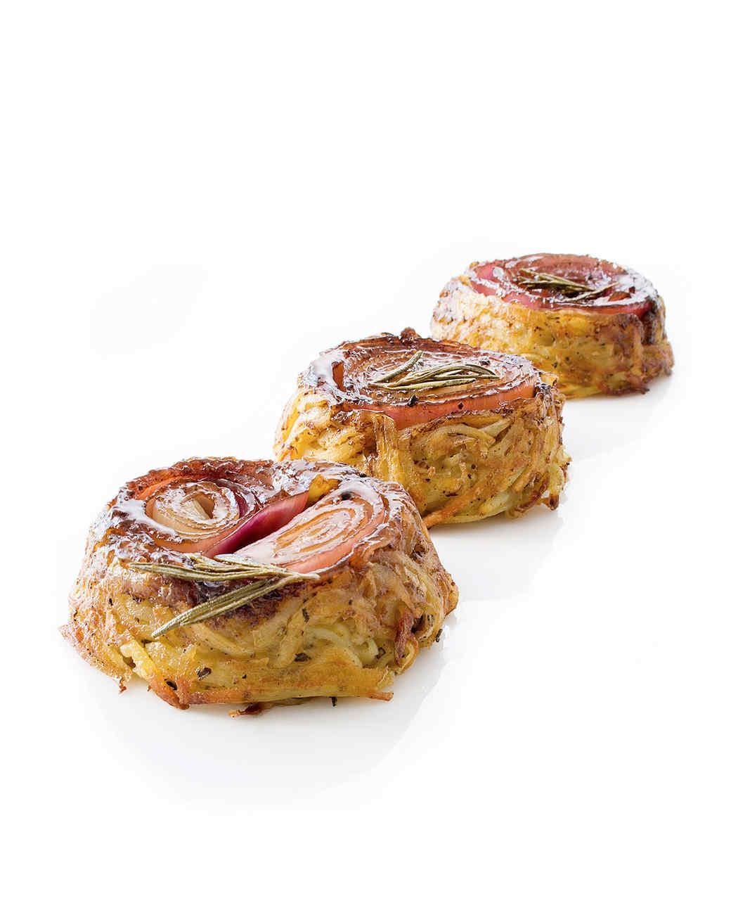 potato onion cakes