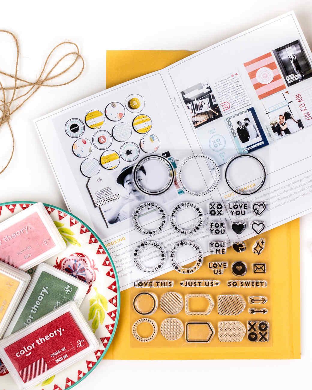 stamp kit box