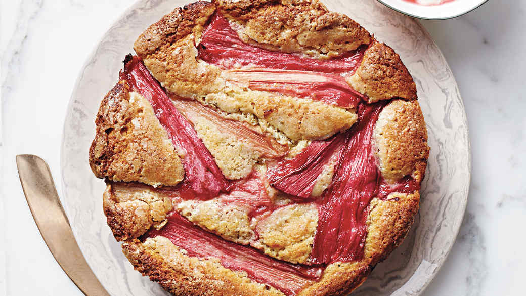 Rhubarb Torte Dessert Recipes
