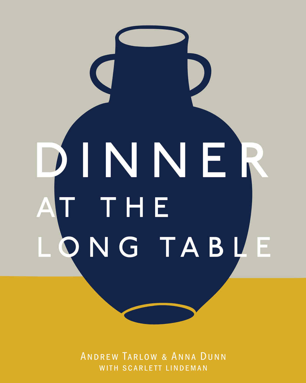 Dinner at the Long Table cookbook cover
