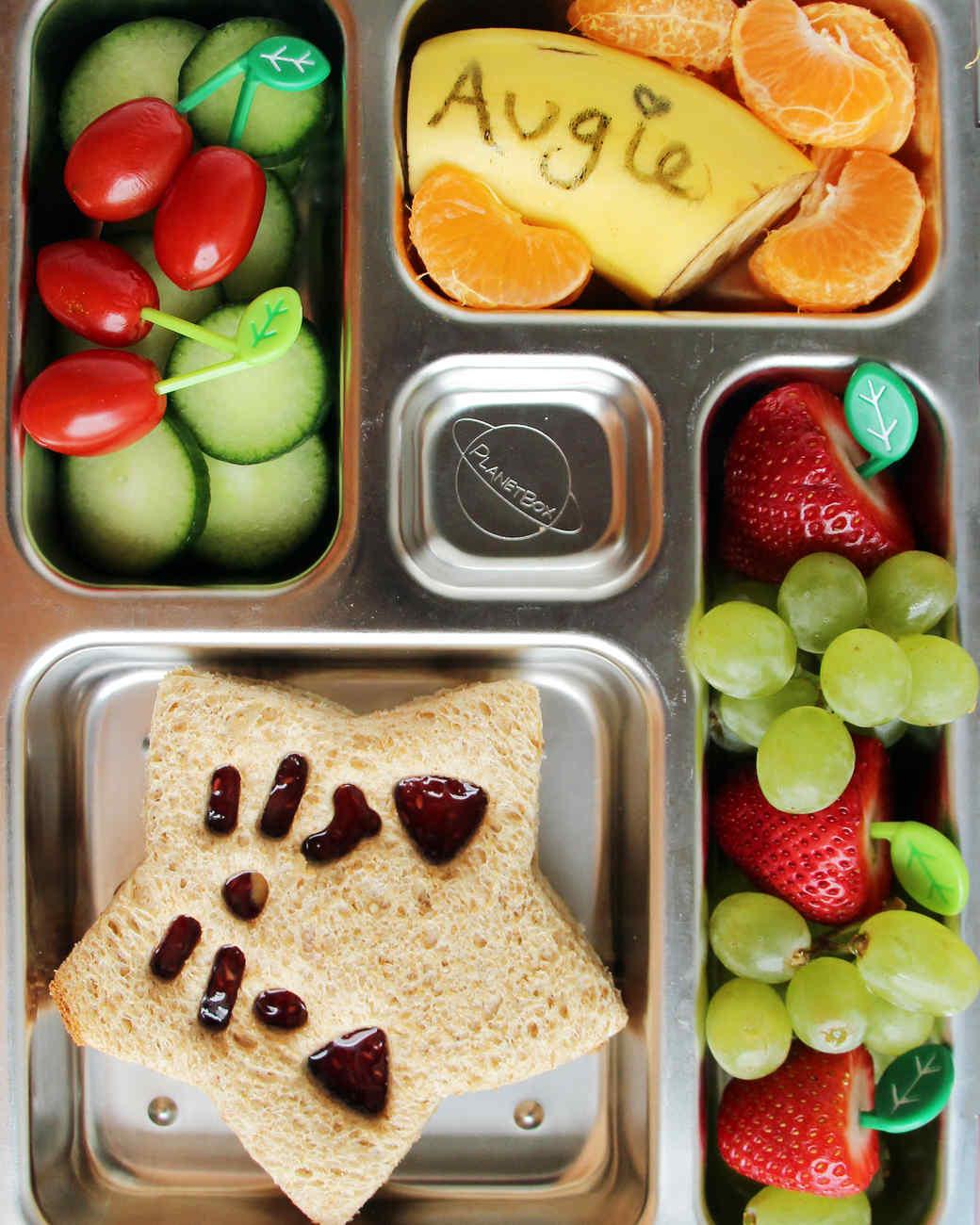 12 Super-Cool Kids\u0027 Bento-Box Lunches You Can Actually Make | Martha Stewart